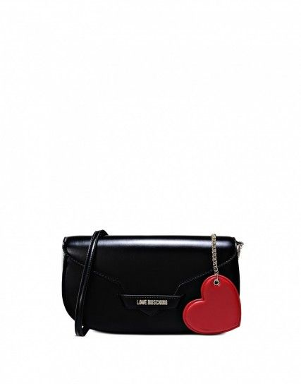Clutch in vernice Love Moschino - Dalla collezione di borse primavera estate 2016 Love Moschino, clutch in vernice.
