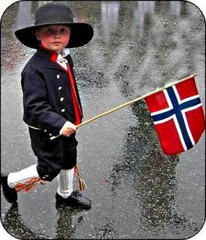 Boy in Norwegian National Costume // Gutt i Norsk Nasjonaldrakt  Photo by Bjarne Skjerve, Voss, Norway.