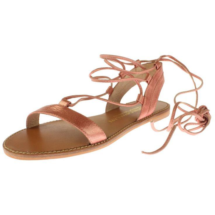 Chinese Laundry Kristin Cavallari Womens Gladiator Flat Sandals