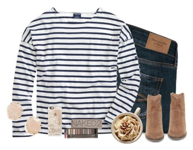 """""""honor."""" by kadynpleasants ❤ liked on Polyvore featuring mode, Abercrombie & Fitch, Saint James, Kendra Scott, Steve Madden, Casetify en Urban Decay"""