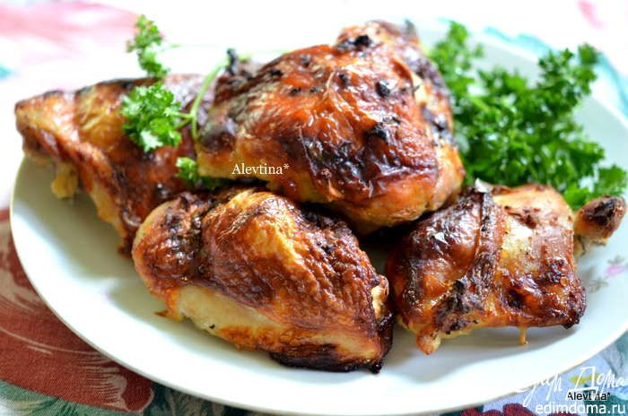 Куриные бедрышки на кефирном маринаде