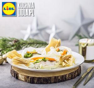 Papiloty z dorsza. Kuchnia Lidla - Lidl Polska. #darekkuzniak #dorsz #swieta