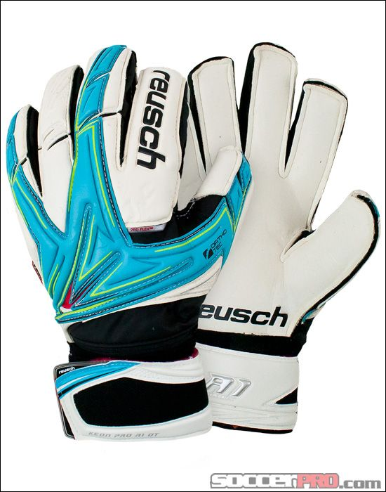 Reusch Keon Pro A1 Ortho-Tec - Aqua with White and Lime Green...$121.49