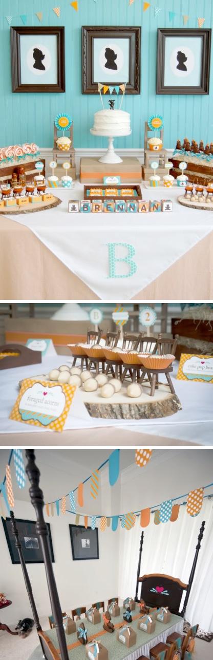 LOVE this GOLDILOCKS & THE THREE BEARS themed birthday party via Kara's Party Ideas! karaspartyideas.com