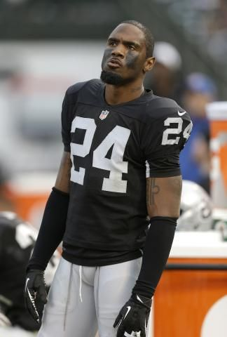 Oakland Raiders Black and Silver. Charles Woodson is the man.