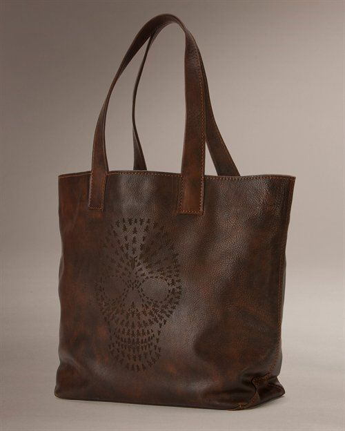Skull Tote -- $268 by FryeFab Shoes, Frye Company, Boots Bags, Bags Baubles, Frye Skull, Bags Whore, Skull Totes, Bags Lists, Heart Skull