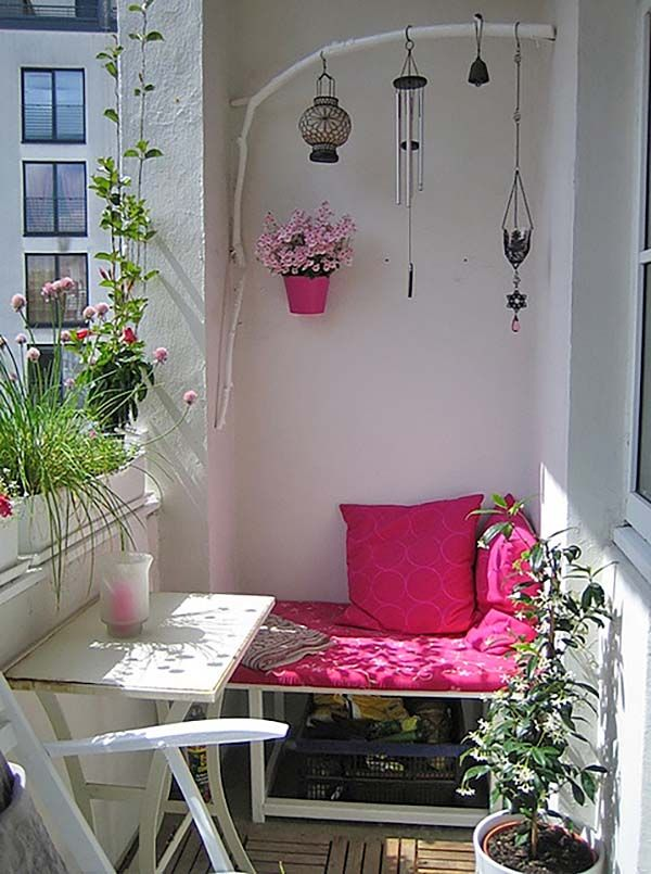 Best 20 Small Balcony Design Ideas On Pinterest