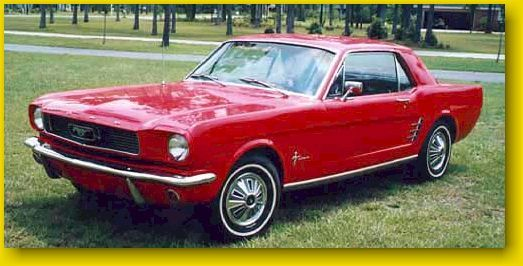 1966 mustang! My dream car!