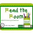 FREE labels for the classroom. Post these labels around the room and/or post on classroom tool bins. ...