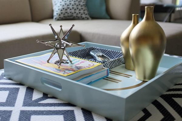 How To Style Coffee Table Trays: Ideas & Inspiration: