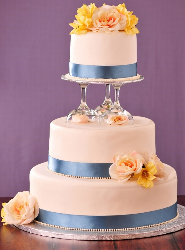Casual Wedding Cake-7