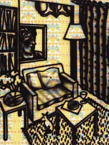 Suburban Interior - Howard Arkley