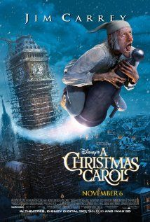 A Christmas Carol (2009)-A must see after reading the book with kids! Literature study, Dickens, Victorian England