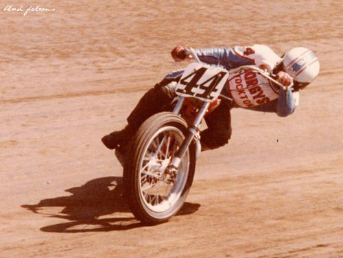 Vintage Flat Track Racing - Whip it good!