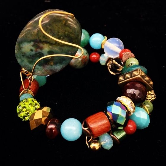 Image of Stones of Wrap turquoise