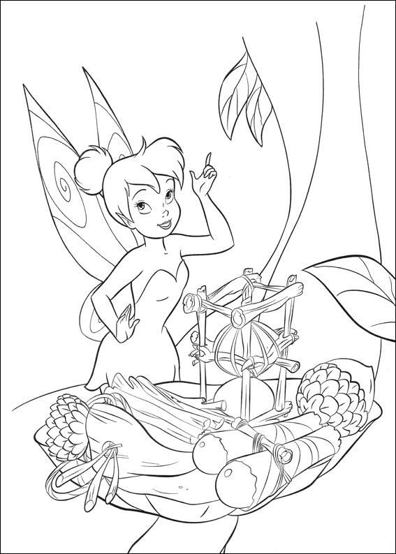 154 best Tinkerbell images on Pinterest | Tinkerbell coloring pages ...