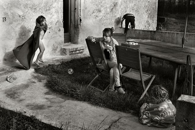 "Alain Laboile, ""Untitled"" from the series ""La Famille,"" digital pigment print.http://www.laboile.com/"