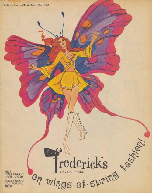 Frederick's of Hollywood catalog cover – Spring 1972