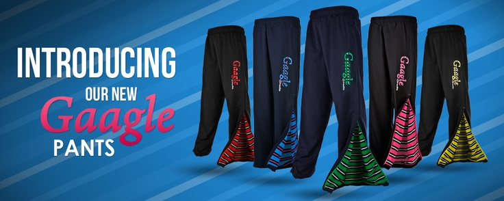 New Gaggle Pants from O'Neills. Our new range of pants come in a range of lining colourways, one for every sports enthusiast.