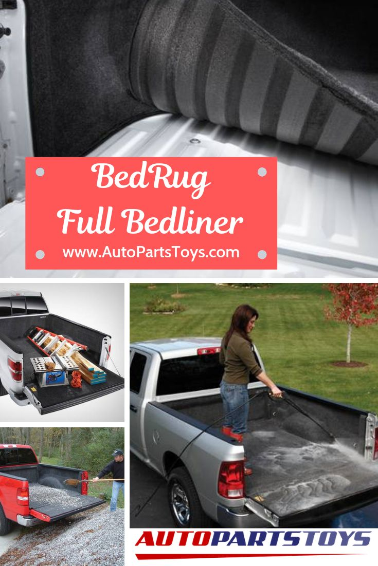 BedRug is the most innovative and unique truck bed liner