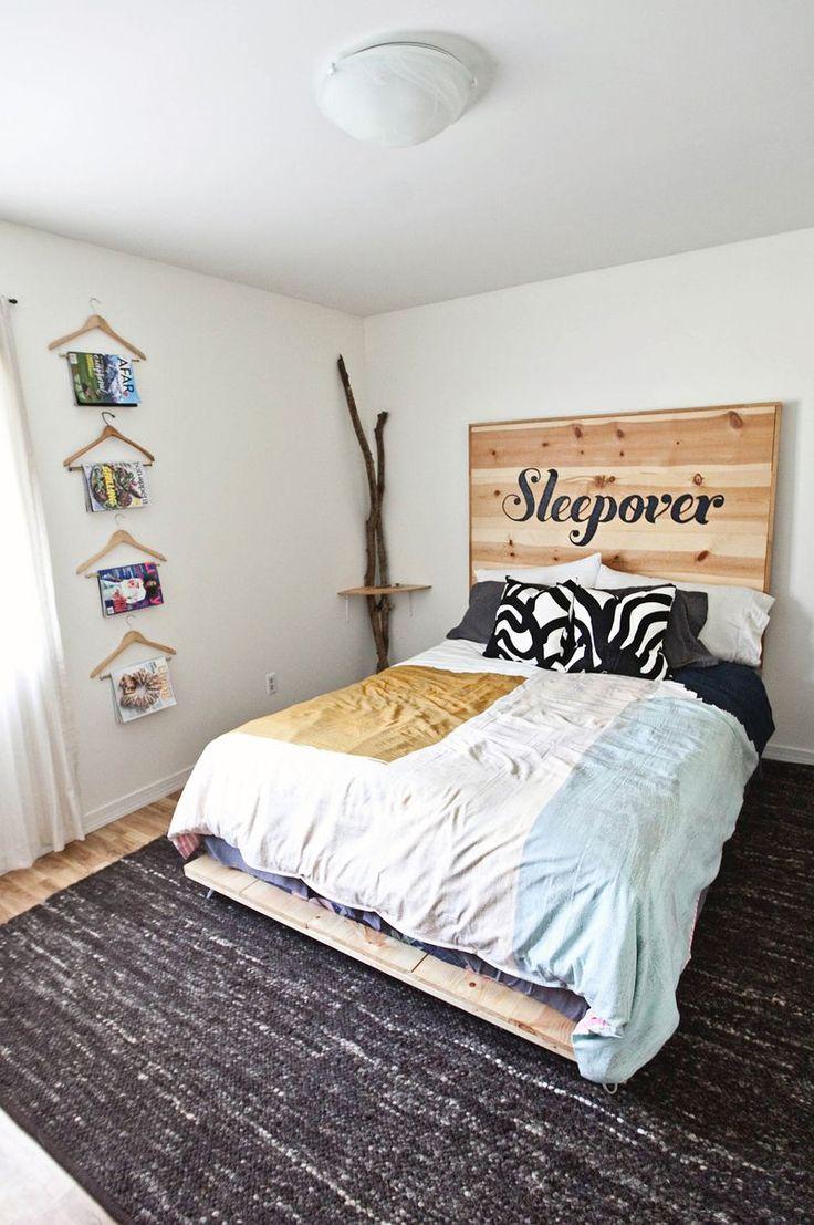 Homemade bed frame ideas - Diy Simple Bed Frame