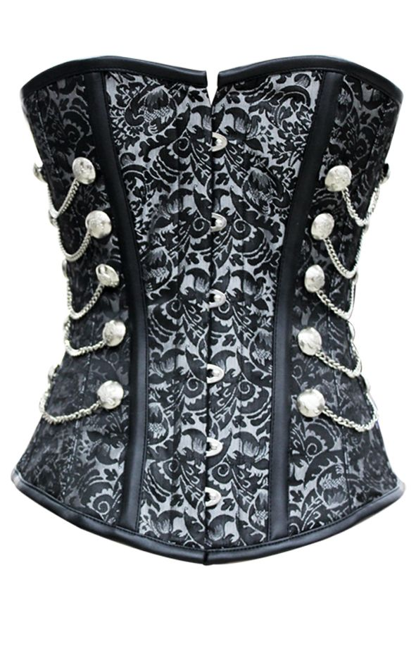 Steampunk Overbust Corset Soooo in love with this....well, with several of these.