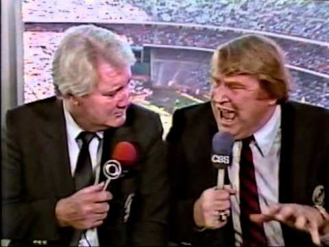 12/23/84.  NY Giants at LA Rams.  John Madden & Pat Summerall with the commentary.    NFL on @CBS 1984 NFC Wildcard Intro: http://youtu.be/ch7RaSKn-rk @youtube RIP Pat Summerall @ThePatSummerall #PatSummerall @NFL @nflcommish @ESPN