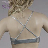 X TOP MICRO SILVER #moda  #fitnessfashion #top #free_style #girl #fashion #sexy #like #fitness #dri-fit
