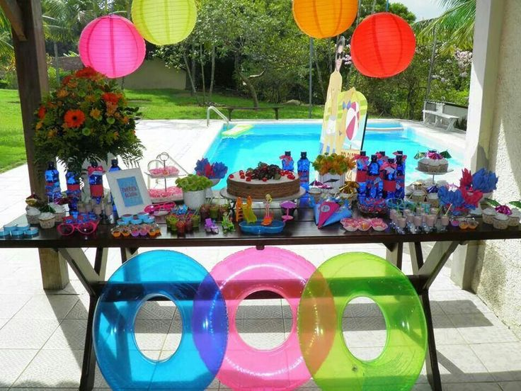 17 best images about festa na piscina pool party on for Piscina party