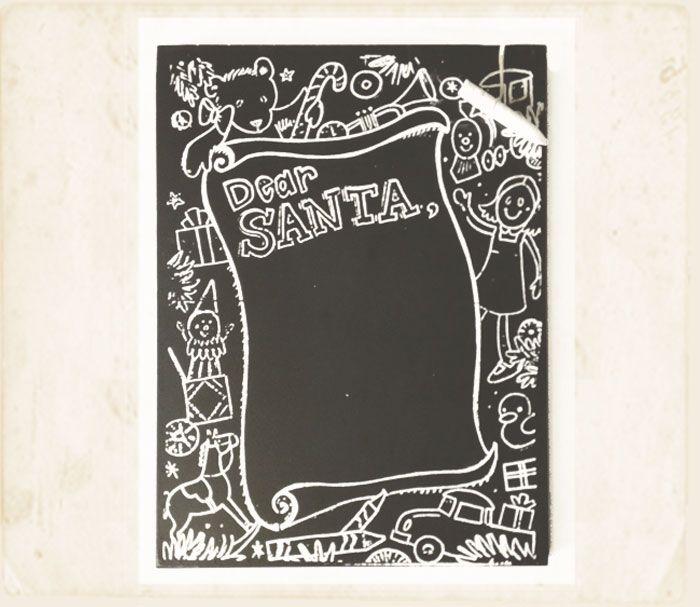 Santa viene en camino,  corre a escribir tus deseos y antojos…