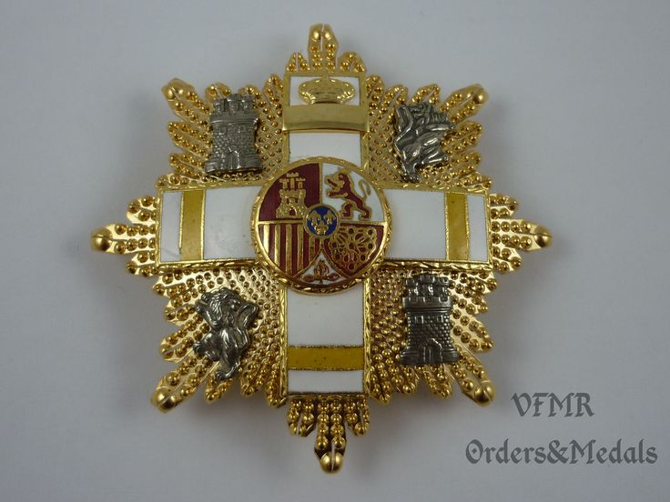 Spain - Order of Military Merit, Grand Cross yellow (wound or fallen in non combat service) M2003