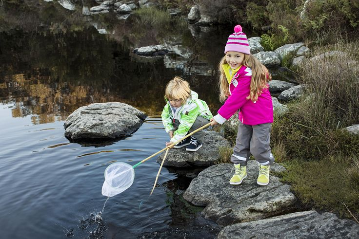 Get the kids out and about! Children with active outdoor lifestyles have a healthier appetite, get more sleep and can focus better when learning. Boy: Kasku jacket, Timmi Pants, Reimatec® Wetter shoes,  Girl: Toisto jacket, Tripla pants, Piristys hat, Reimatec® Wetter shoes