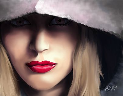 """Check out new work on my @Behance portfolio: """"Speed Painting - Winter"""" http://on.be.net/1F1VtRH"""