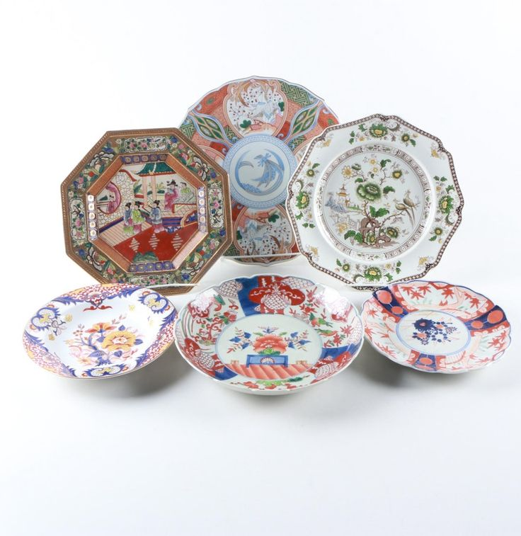 East Asian Decorative Plate Collection