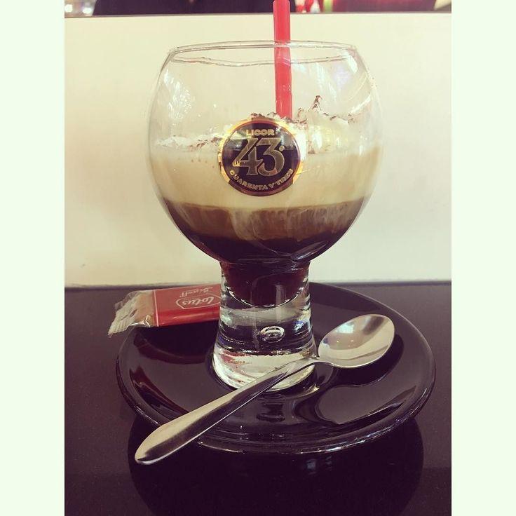 Espresso  licor 43  I love this mix but being honest I prefer it when it's cold #carajillo #licor43 #espresso #coffeetime #coffeebar #yummy #drinkpic #relax #coffeebreak #sagafredo #instagood #elbeeinkaufszentrum #hamburg #germany #azulcolorcielo