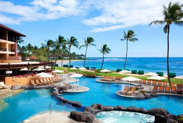Sheraton Kauai Resort - Newly Renovated in Koloa Kauai Hawaii