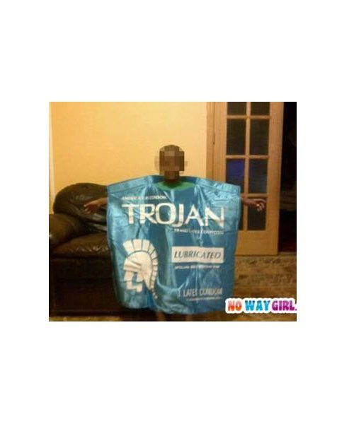 Kid Condom Costume.  There are no words!