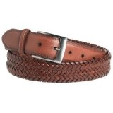 Lee Men's Comfort Stretch Braided Belt, Tan, 36 (Apparel)By Lee