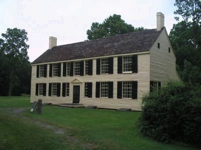 This house is the rebuilt house of Gen. Philip Schuyler, built in 29 days in November 1777. The original house was burned down by British Ge...