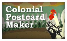 Colonial Postcard Maker