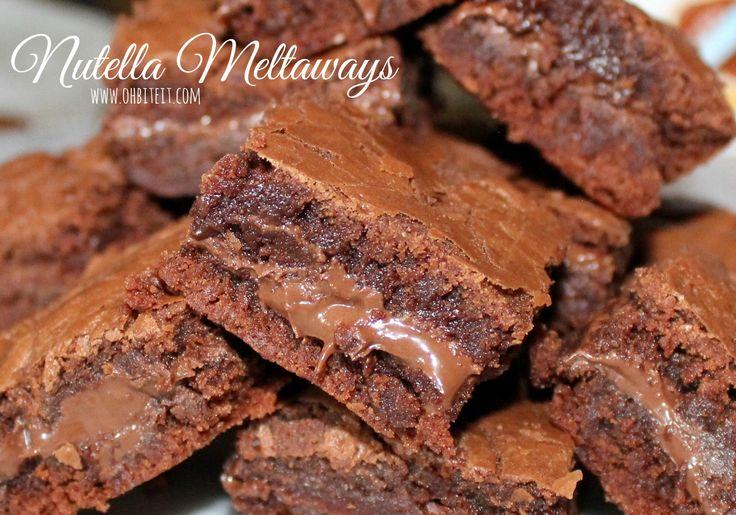 ~Nutella Meltaways!