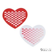 valentine's day weaving heart