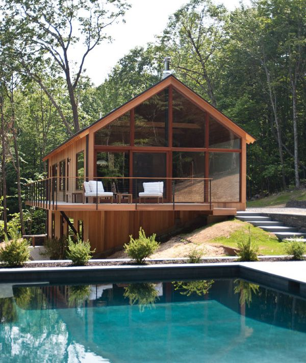 Hudson Woods: Sustainable dwelling in Hudson River Valley