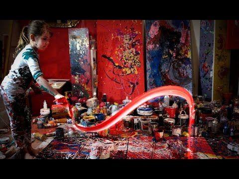 Esta Pequeña Artista Ha Creado Impresionantes Pinturas Y Múltiples Exhibiciones - ¿Qué hacías túcuando tenías 7 años? Ella es Aelita Andre…  Una artistade 7 años de edad, de Melbourne, Australia.  A pesar de su corta edad, Aelita ya tiene un currículum impresionante lleno de exposicionesy obras vendidas.  Aelita empezó a pintar cuando tenía sólo 9 meses de edad.  Segú... #Entretenimiento=Relajateydisfruta...  http://www.vivavive.com/esta-pequena-a