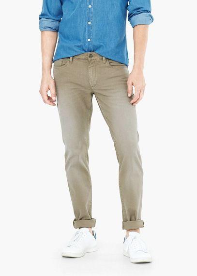 Mango skinny jeans grau