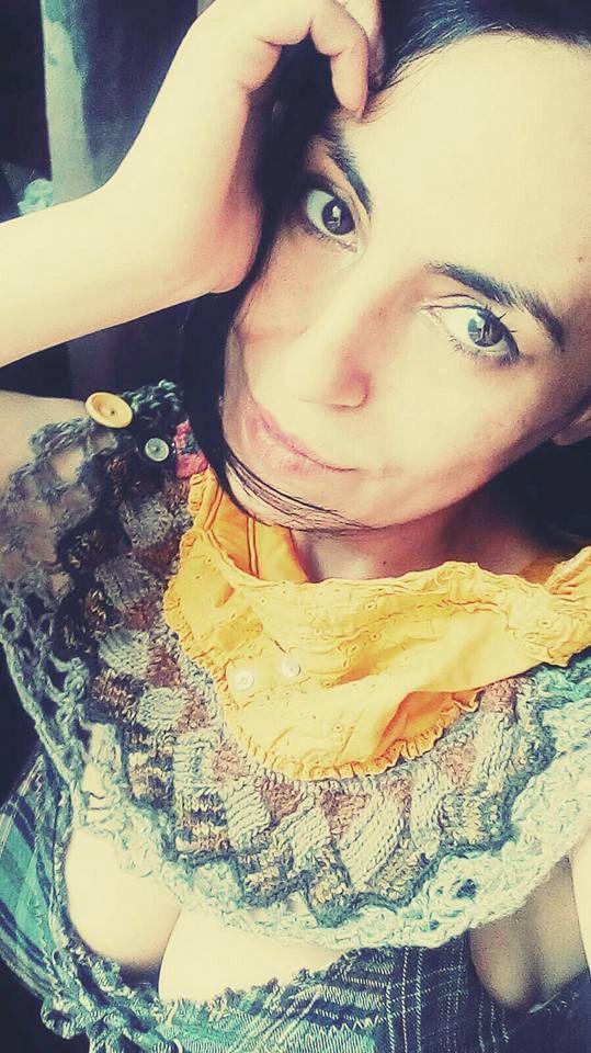Statement infinity scarf neckpiece neckwear entrelac by zestria