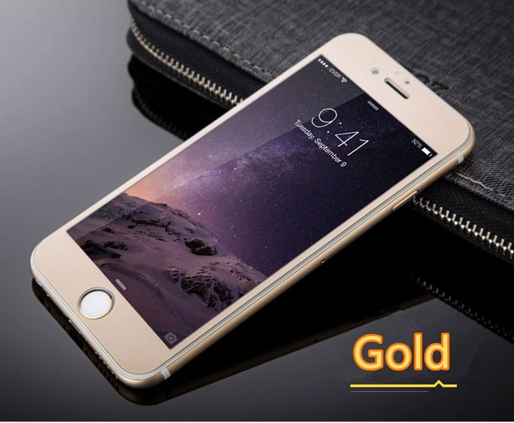 Cheap Metal White Glass Screen Protector iPhone 6 And 6 Plus IPASP03 | Cheap Cell-phone Case With Keyboard For Sale