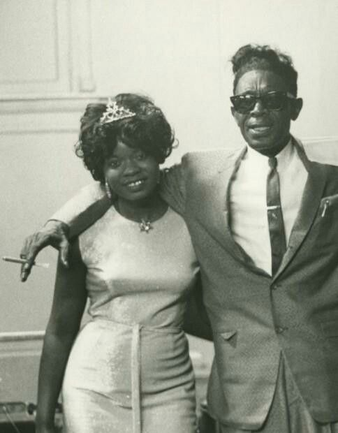 Koko Taylor & Lightnin' Hopkins.                                                                                                                                                                                 More