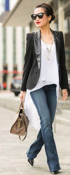 Great Heights : Slim Bootcut & Tailored Blazer by Wendy's Lookbook