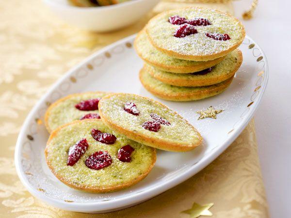 Grüntee-Cookies